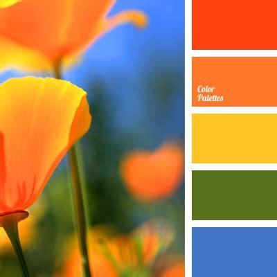 orange and blue combination deep blue and orange color palette ideas