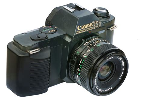 the canon t50 on lewis collard dot