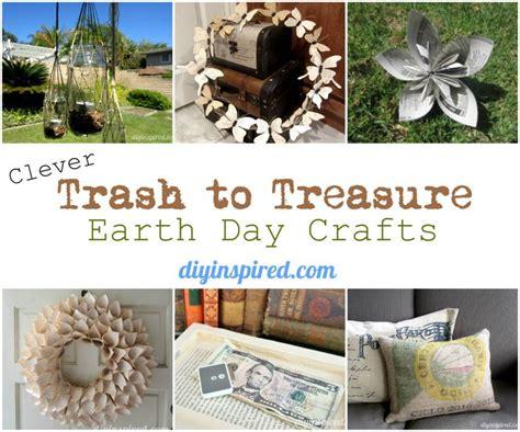 trash to treasure ideas home decor trash to treasure clever trash to treasure earth day crafts recycled
