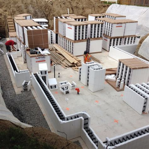 Insulated Concrete Forms The Choice For Energy