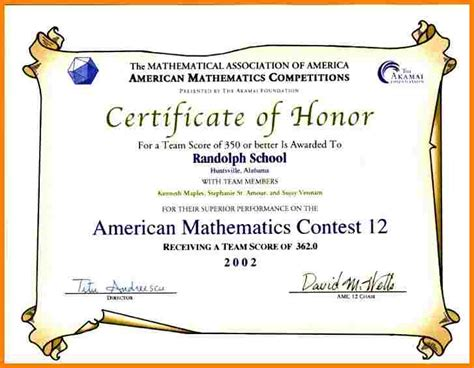 exle certification letter for honor student 7 school certificates sles sle of invoice