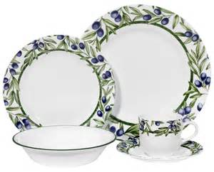 Corelle And Corningware Dinner Sets