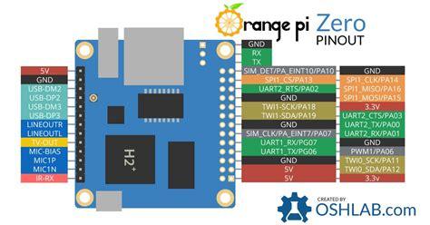 Orange Pi R1 orange pi zero pinout osh lab