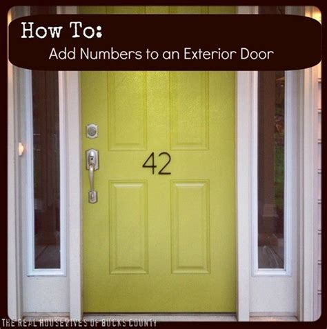 Exterior Door Numbers 17 Best Ideas About Front Door Numbers On Address Numbers House Address Numbers And