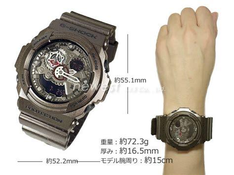 Casio Ga 300a 5ajf 楽天市場 casio カシオ g shock g ショック ga 300a 5a ブラウン 腕時計 腕時計ショップ