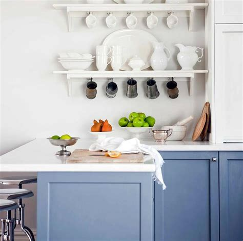 stacked kitchen shelves design ideas