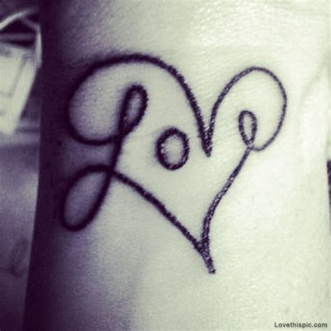 tattoo of love on wrist free pictures