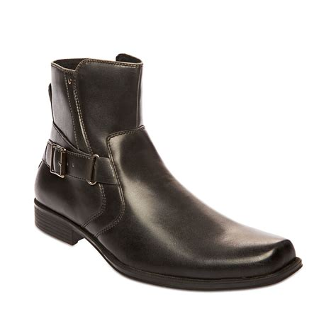 mens boots steve madden madden mens shoes boost boots in black for