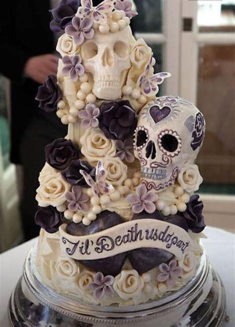 Hochzeitstorte Totenkopf by This Cake Sugar Skull Cake Sugar Skulls
