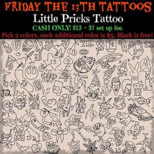 tattoo nerd friday the 13th tattoo specials what you