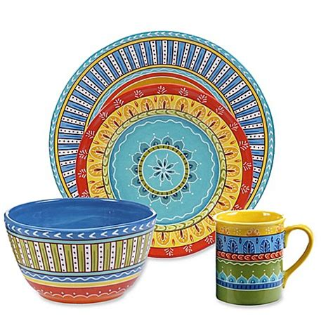 bed bath and beyond valencia certified international valencia dinnerware collection