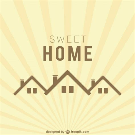 sweet home logo vector free