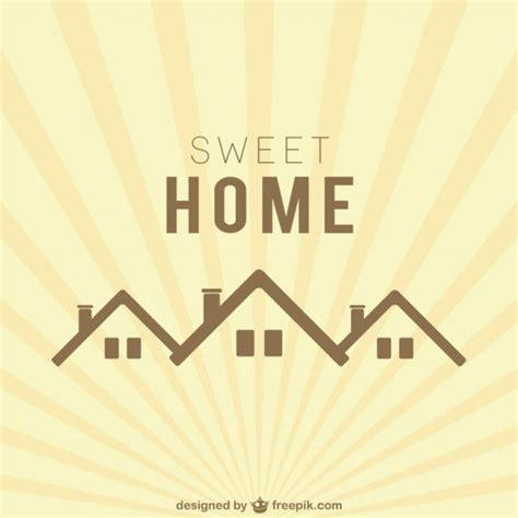 sweet home logo vector