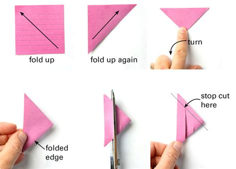 How To Make Origami Out Of Sticky Notes - 3d paper from post it notes babble dabble do