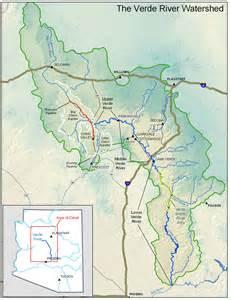 verde arizona map verde river map