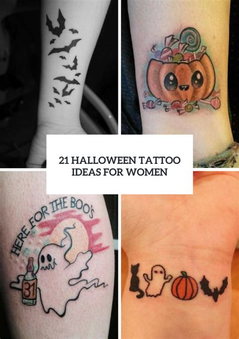 halloween tattoo ideas 21 eye catching ideas for