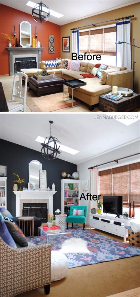 room renovation before and after before and after great living room renovation ideas hative