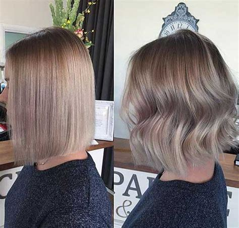 how to do ash ombre highlight on short hair 15 balayage bob hair http www short haircut com 15