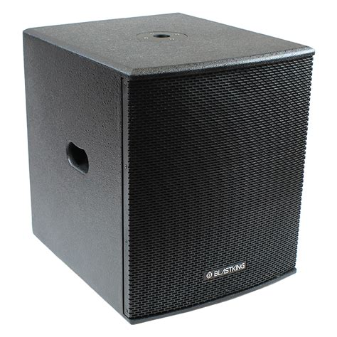 Speaker Excellent 15 Inch 15 inch powered subwoofer bps15ii blastking