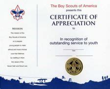 eagle scout certificate template boy scout award certificates pictures to pin on