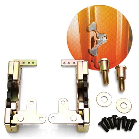 Exterior Door Replacement Parts 1953 Ford Customline Door Jam Replacement Parts Kit W Latches Exterior Sale Ebay