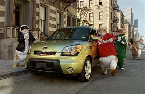 Kia Soul Hamsters Kia Soul Hamster Commercial Honored With 2010 Silver Effie