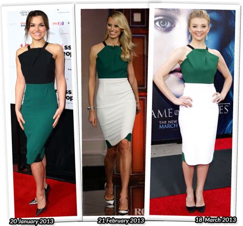 Who Wore Better Carpet Style Awards by Who Wore Roland Mouret Better Barks Karolina