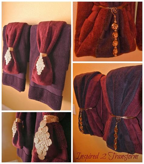 bathroom towel hanging ideas best 25 decorative bathroom towels ideas on pinterest towel display bathroom towels and