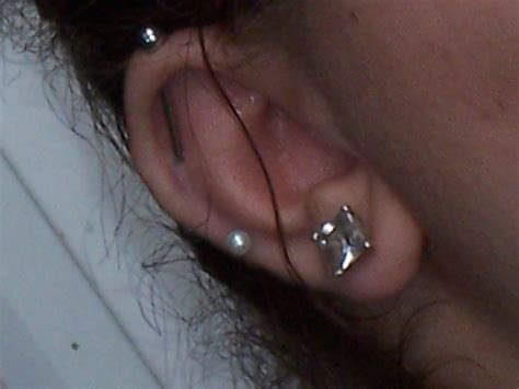 save me industrial bar piercings