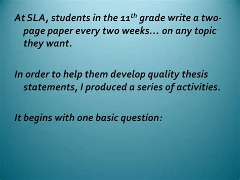 how to write a dissertation in a week how to write a real world thesis statement