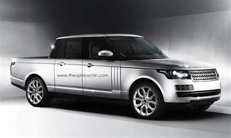 range rover pickup 2013 range rover pickup makes us lol autoevolution