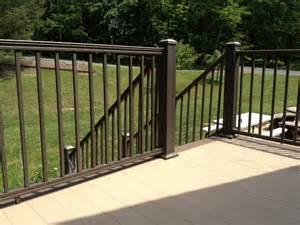 Vinyl Handrail Railing Gallery Keystone Vinyl
