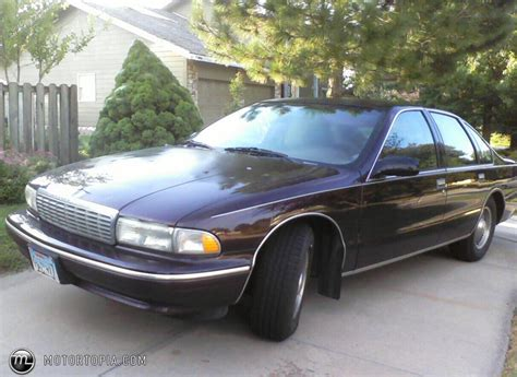 how to learn about cars 1995 chevrolet impala auto manual 1995 chevrolet caprice information and photos momentcar