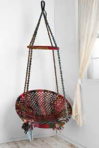 this hanging chair may be the best thing that