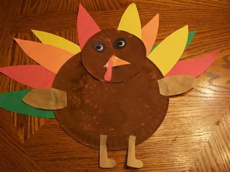 Brown Paper Bag Turkey Craft - brown paper bag thanksgiving crafts images
