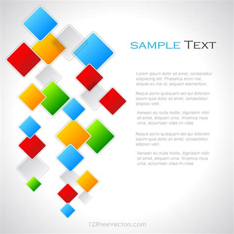 wallpaper vector design free download colorful square background vector design by 123freevectors