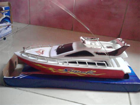 Racer Rc Kapal Speed Boat Biru Mainan Anak Remote mainan kapal boat mainan oliv