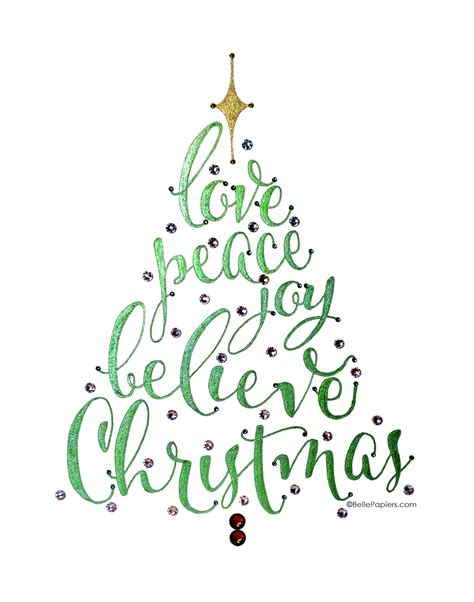 christmas tree word art video youtube