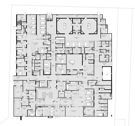 floor plan of hospital hospital floor plans gurus floor