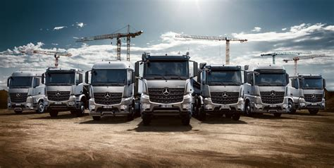 mercedes truck mercedes benz launches arocs truck range video
