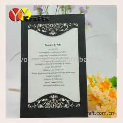 inc003 design cheap unveiling of tombstone invitation cards laser cut invitation cards
