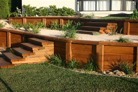 Landscape Timbers On Sale 15 Unique Landscaping Timber Projects And Ideas Planted Well