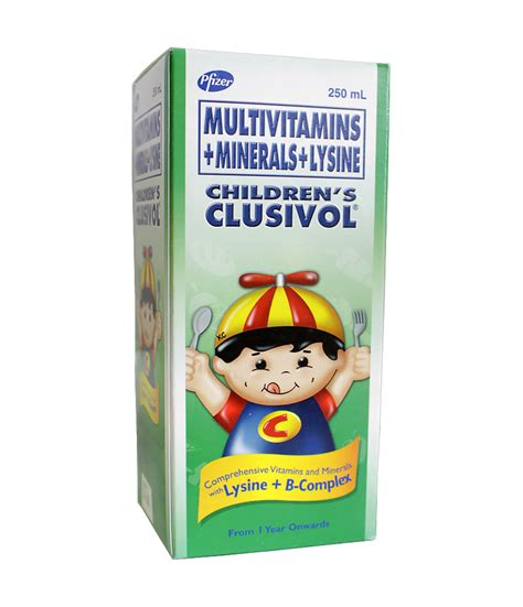 Enervon C Syrup Anak 120ml clusivol syrup 250ml pharmacy