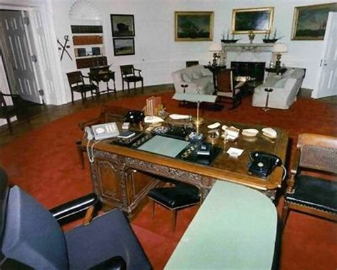 Kennedy Oval Office by Oval Office History White House Museum