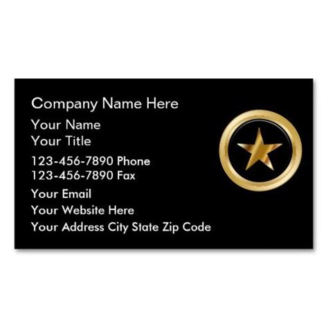 Security Business Cards Templates by 191 Best Security Guard Business Cards Images On