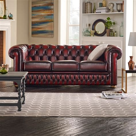 at home chesterfield sofa buy a 3 seater chesterfield sofa at sofas by saxon