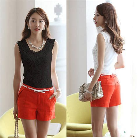 Tank Top Terusan 7837 Diskon embroidery lace vest sleeveless tank tops tees shirt blouse us s 4xl ebay