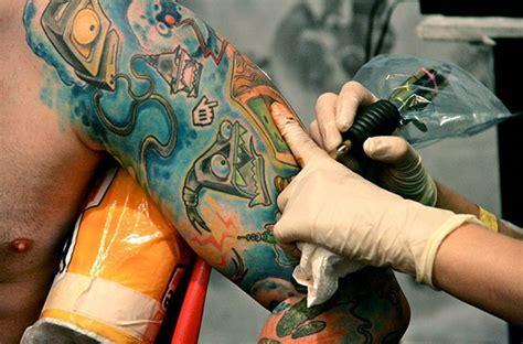 future tattoo removal technology a glimpse of the future tattoos technology senses lost