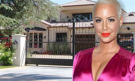 amber rose house amber rose hires armed guards after house break in wstale com