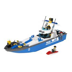 lego city boat lego city police boat 7287 building toy
